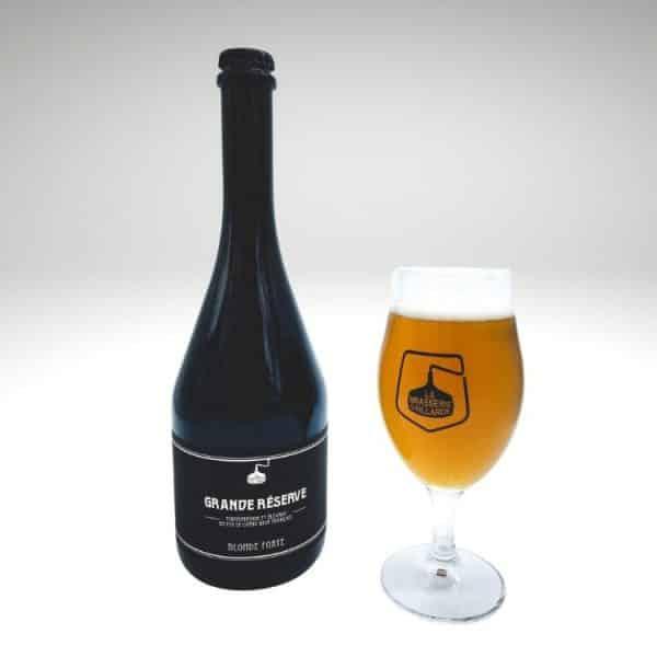 Grande réserve blonde bière brive