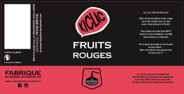 bière fruits rouges